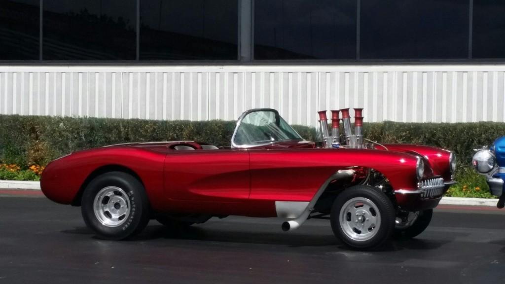 1956 chevrolet corvette gasser race car for sale for Motor cars for sale