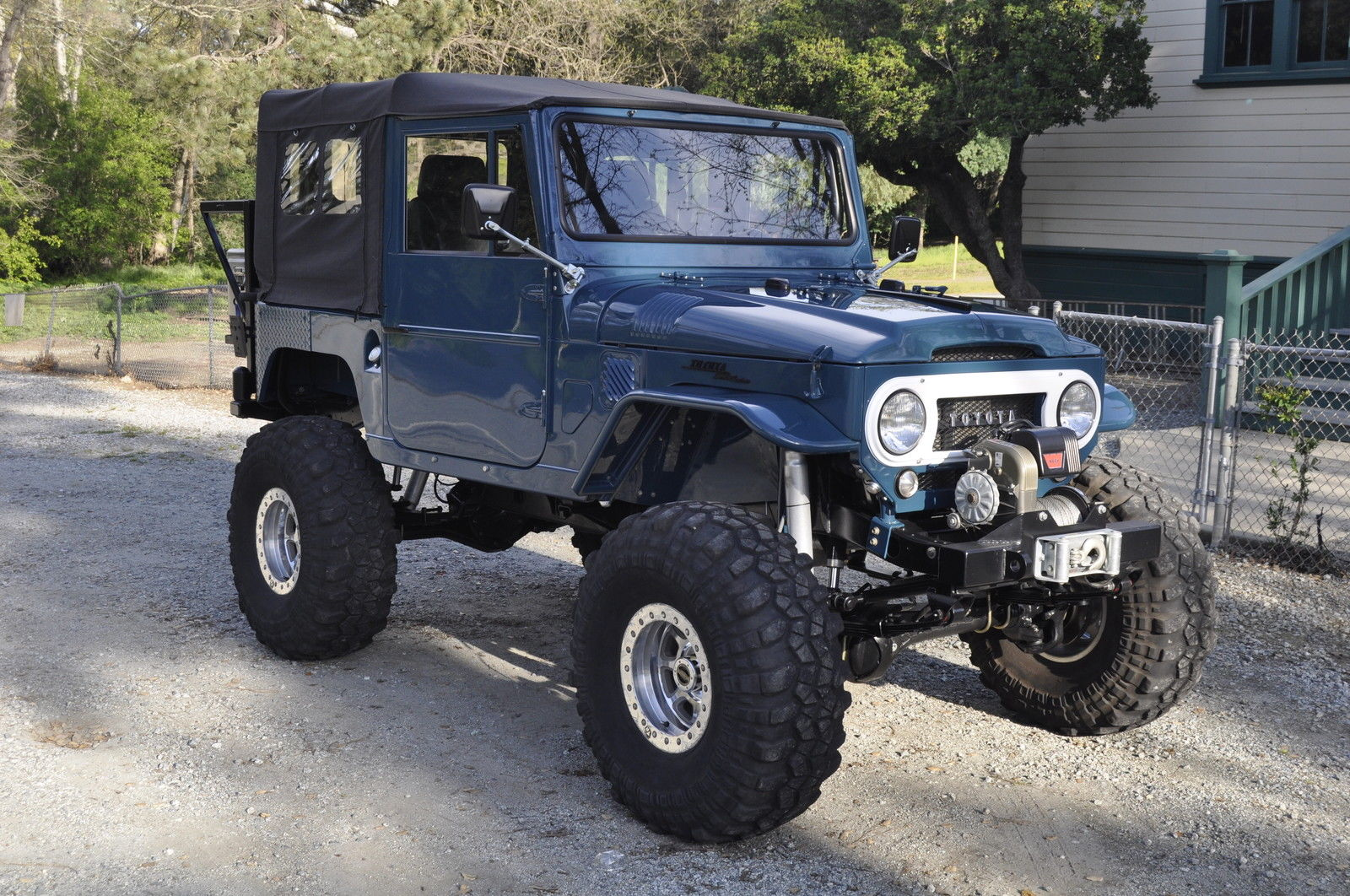 1966 Toyota Land Cruiser Fj40 Restomod For Sale