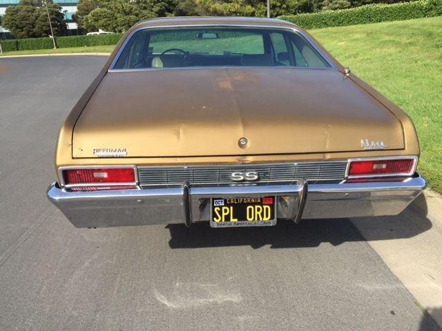 1970 Chevrolet Nova L78 SS396