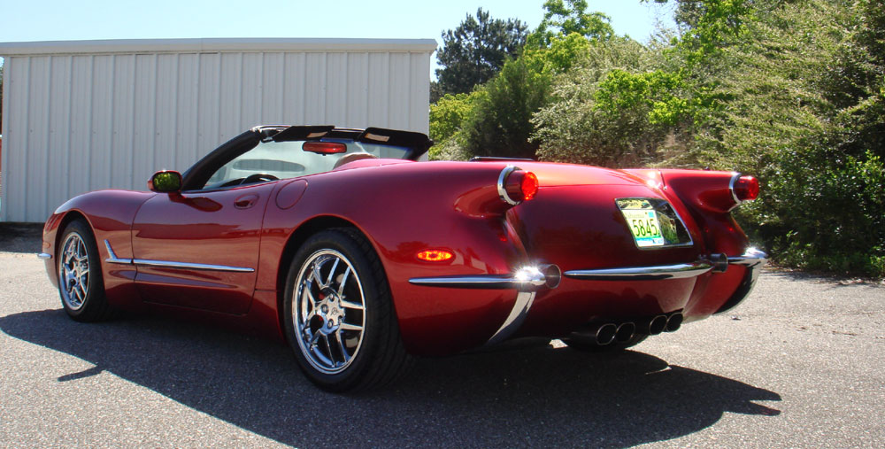 1999 Chevrolet Corvette Convertible 50th Anniversary For Sale