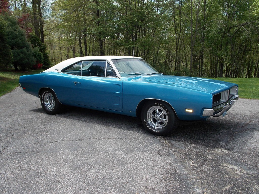 """1969 Dodge Charger """"White Hat Special"""" for sale"""