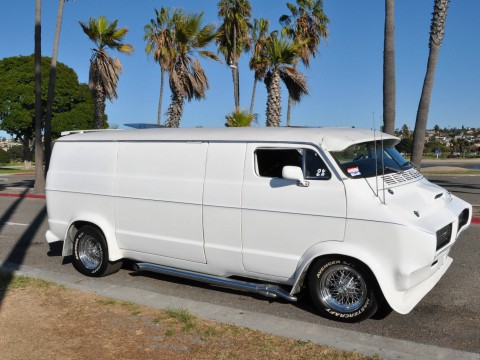 1976 Dodge A 100 Van Custom Hot Rod Chopped Top for sale