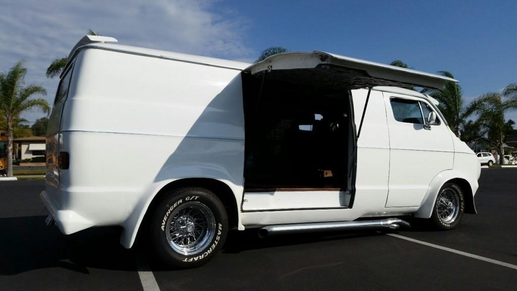 1976 Dodge A 100 Van Custom Hot Rod Chopped Top