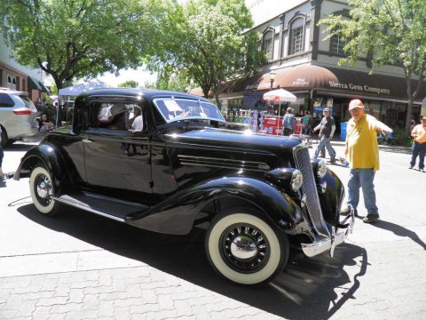 1935 Graham Model 73 (Blue Streak) Special 6 Business coupe for sale