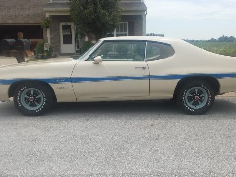 1971 Pontiac Le Mans GT 37 Documented Super Rare Color Combo for sale