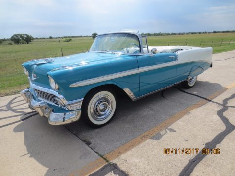 Classic 1956 Chevrolet Bel Air Convertible for sale