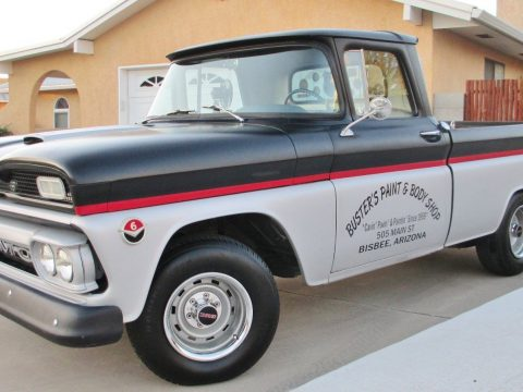 Original 1961 GMC C1000 Fenderside Short Box Truck for sale