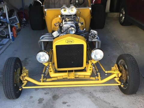 Ridiculous 1923 Ford Model T Roadster Pickup w/ Blown 468 Big Block Chevy for sale