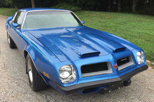 1974 Pontiac Firebird Ram Air 455 Formula in Pristine condition