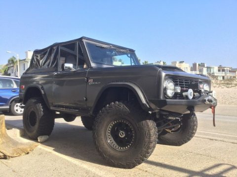 1975 Ford Bronco Sport magazine build for sale