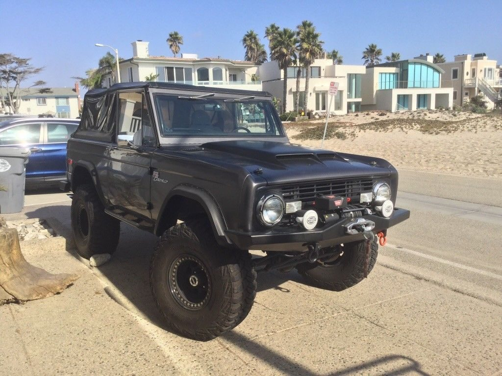 1975 Ford Bronco Sport magazine build