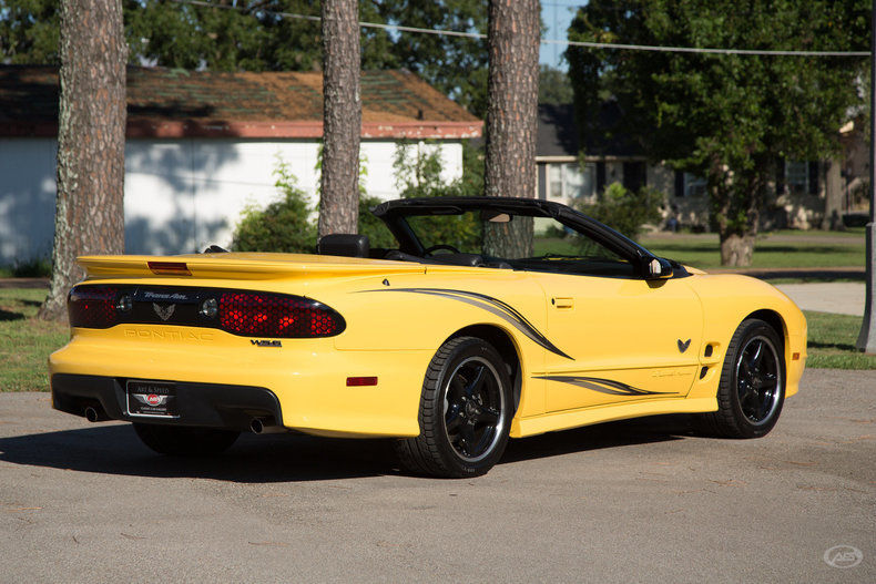 2002 Pontiac Trans Am WS6 Collectors Edition with 5,172 Miles!