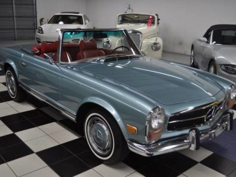 AMAZING 1970 Mercedes Benz SL for sale