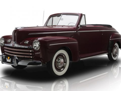 NICE 1946 Ford Convertible for sale