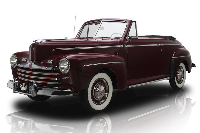 NICE 1946 Ford Convertible