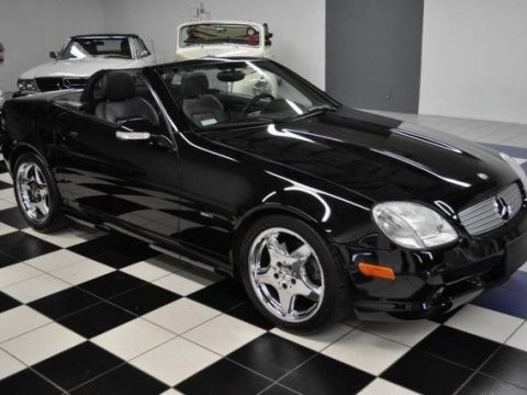 GREAT 2001 Mercedes Benz SLK Class Slk320 for sale