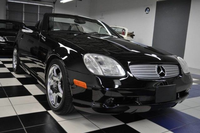 GREAT 2001 Mercedes Benz SLK Class Slk320