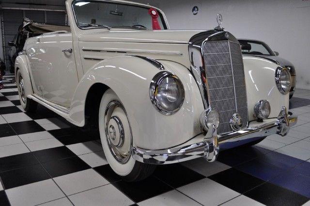 VERY RARE 1952 Mercedes Benz 200 Series