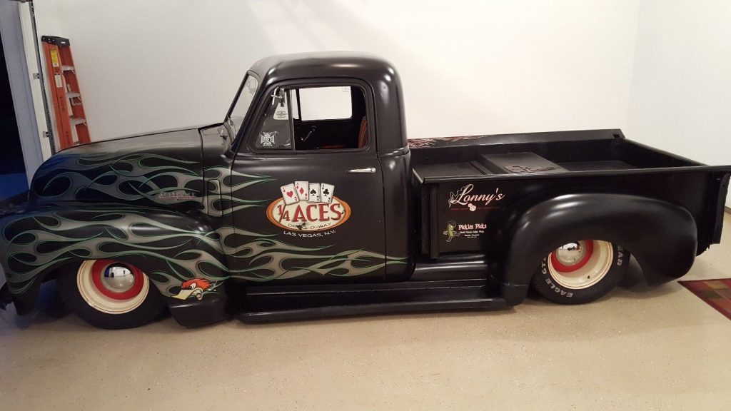 1950 Chevrolet Pick Up Truck on 1995 S10 Chassis