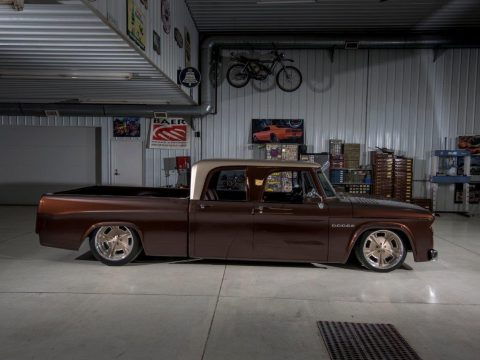 "1969 Dodge D200 Crew Cab ""Whiskeybent"" SEMA Build By Lakeside Rods for sale"