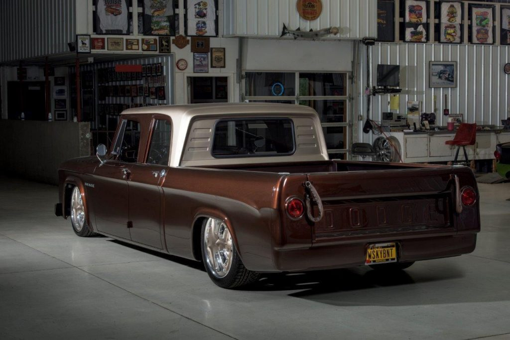 "1969 Dodge D200 Crew Cab ""Whiskeybent"" SEMA Build By Lakeside Rods"