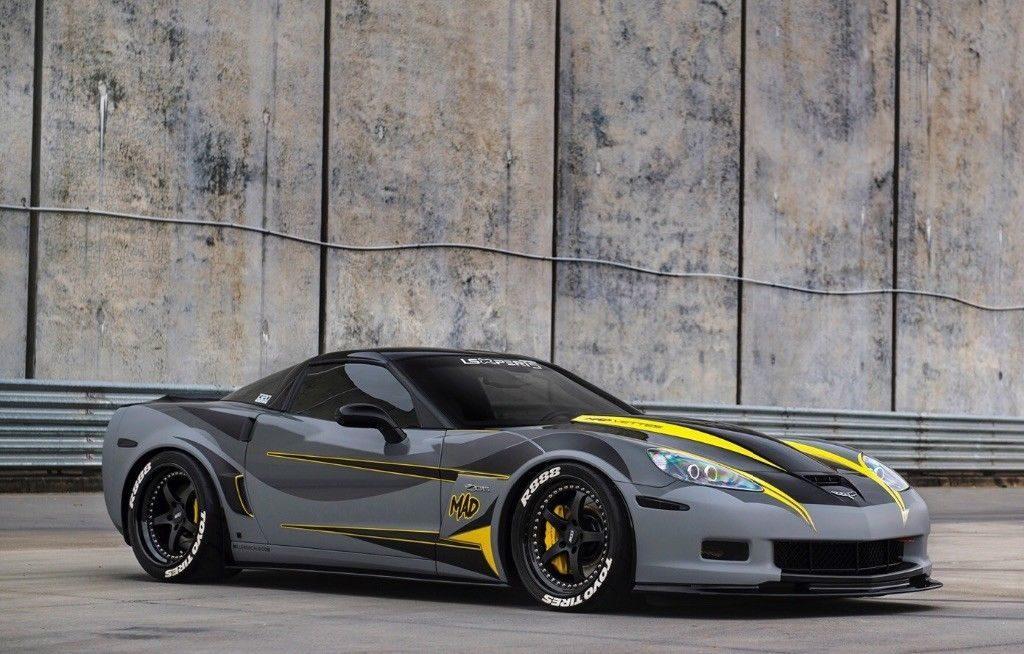 2008 Chevrolet Corvette Z06 Complete Custom
